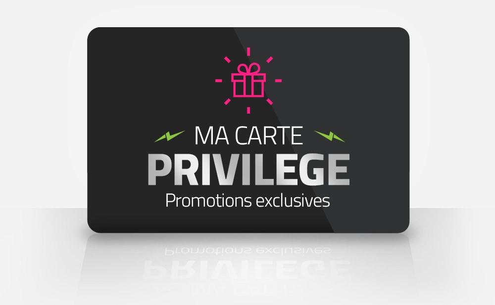 Carte Passion Privilège